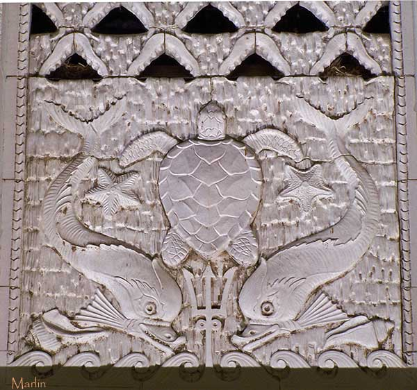 Art Deco Bas Relief Panel