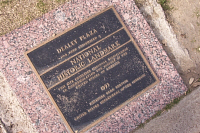 Dealey Plaza - National Historic Landmark plaque