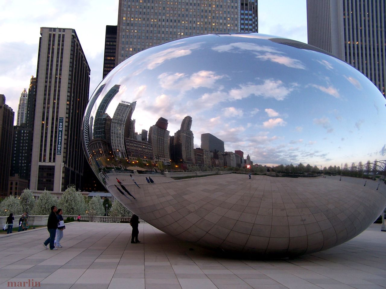 Cloud Gate (The Bean) Sculpture at Millennium Park